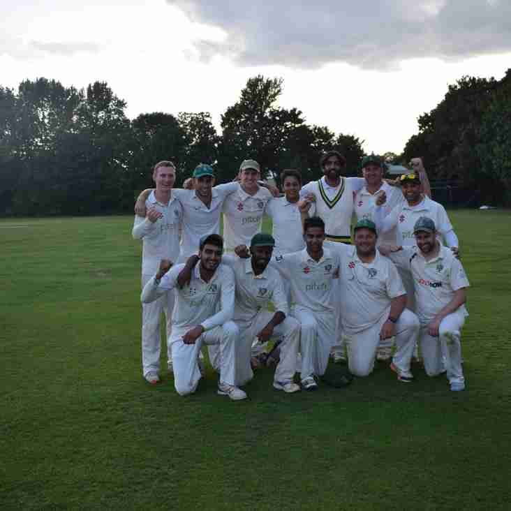 The 2s are champions! Match Report