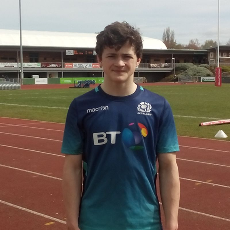 Keir Completes a Successful Scotland U16 International Festival in Wales