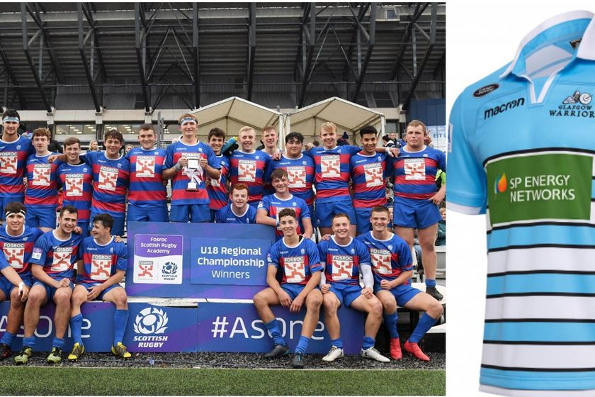 3 Balfron/Endrick Boys Selected for Junior Glasgow Warriors Side