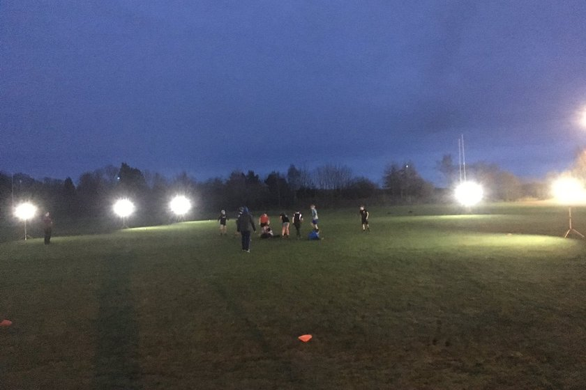 New Portable Flood Lights for the Club