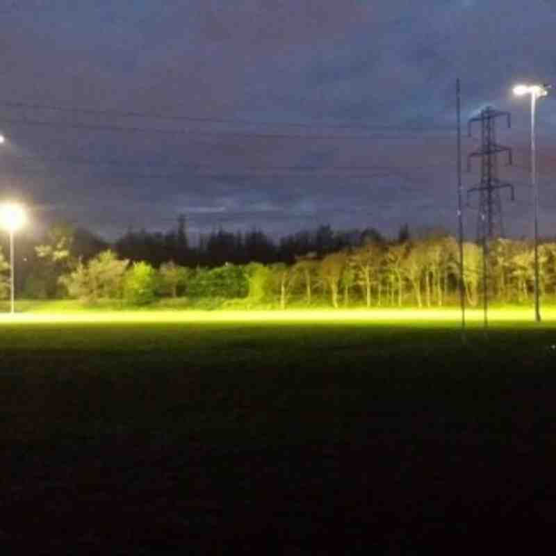Old Bedians Floodlights Installation
