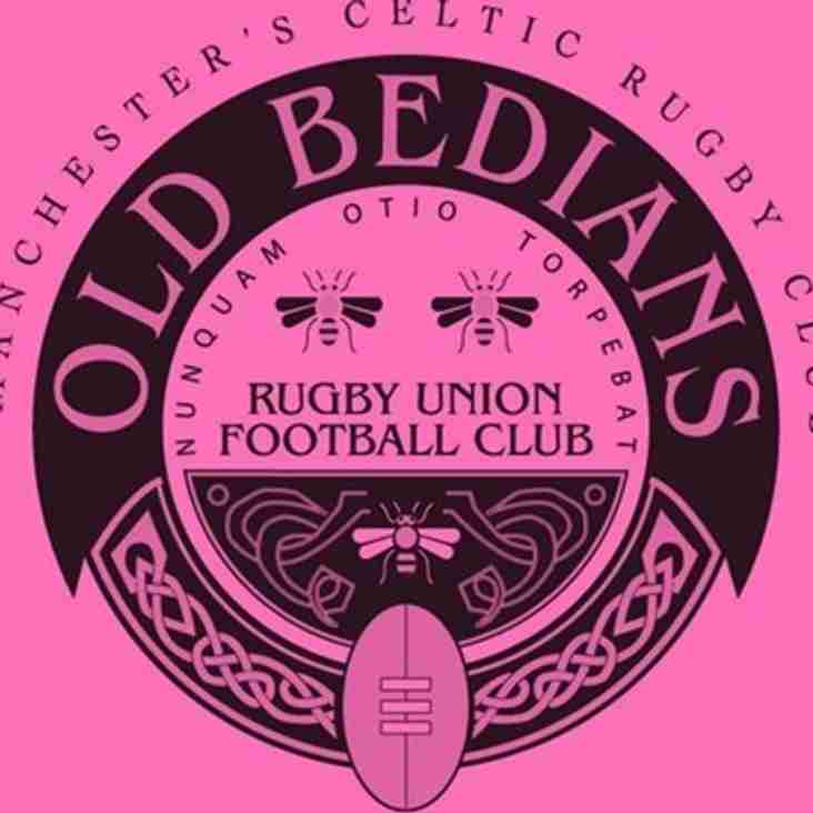 Winners at Old Bedians - Bring a friend to rugby, Christie raffle and car club