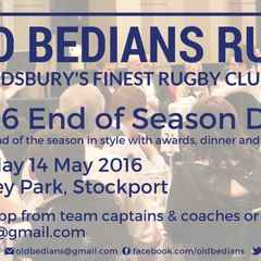 Whole Club End of Season Dinner - Saturday 14 May, at Edgeley Park, Stockport