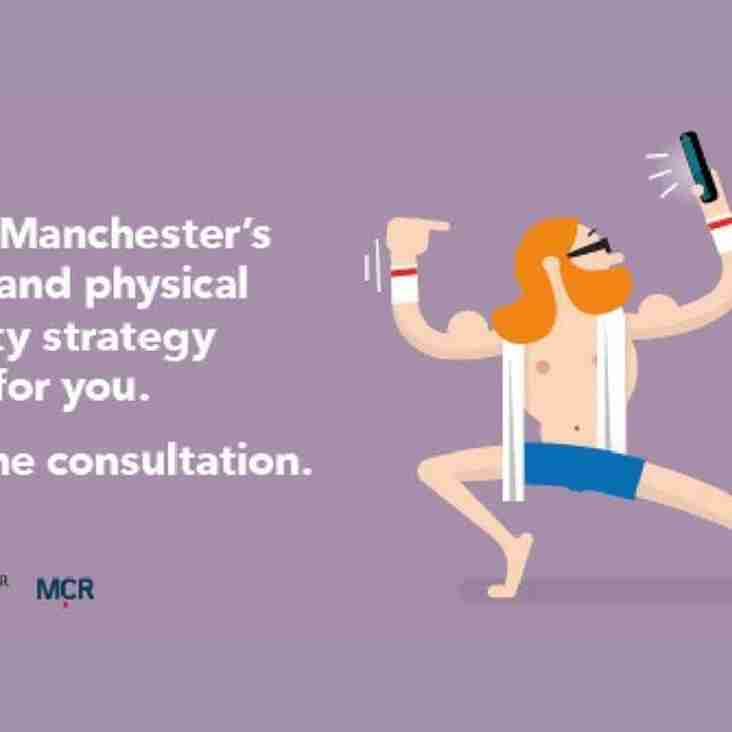 Have your say about the future of sport in Manchester