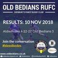 Aldwinians 4 22 - 22 Old Bedians 3