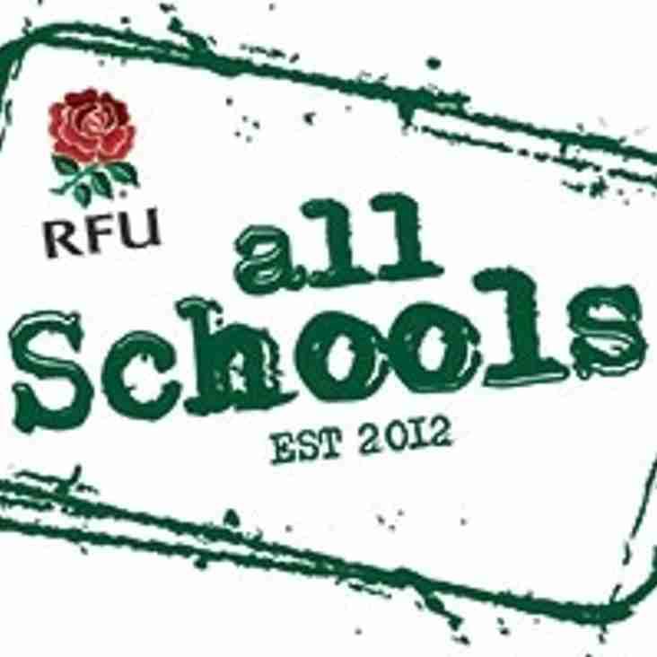 All Schools Festival @ Darlington RFC