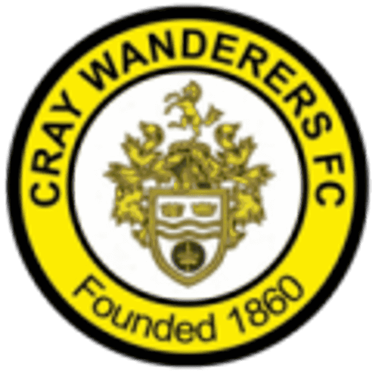 NEW FIXTURE DATE AWAY TO CRAY WANDERERS