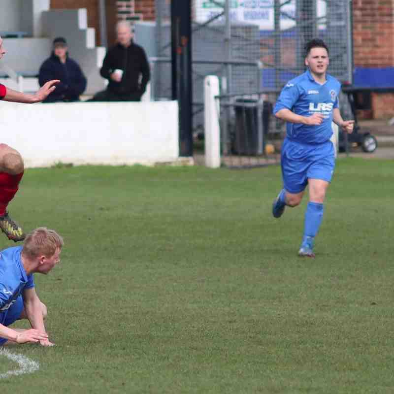 Armthorpe Welfare v Cleethorpes Town - 2nd April 2016