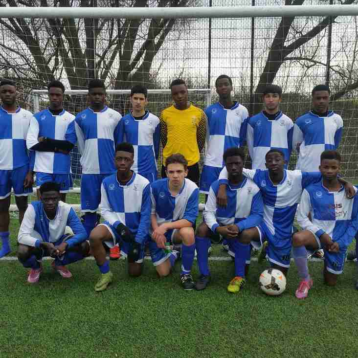 Ryan FC Narrowly Beats Deres Under 15's in London Cup Final