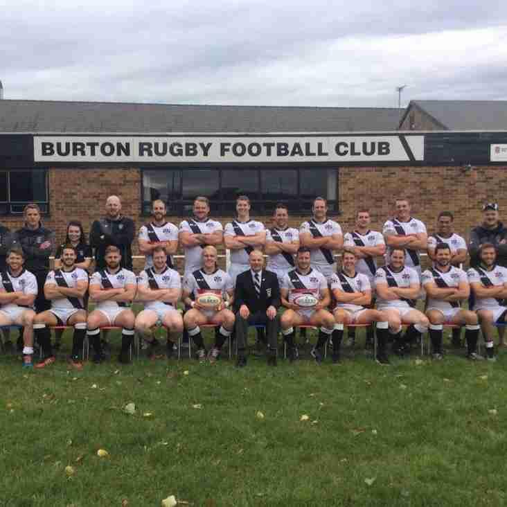 Burton RFC 1st XV Team announced for Saturday