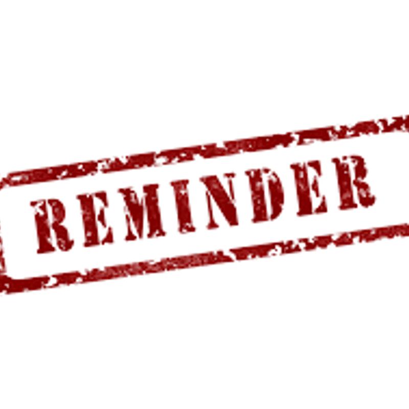 Membership Reminder