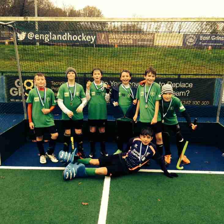 Lewes U12 boys win East Grinstead Junior Tournament!