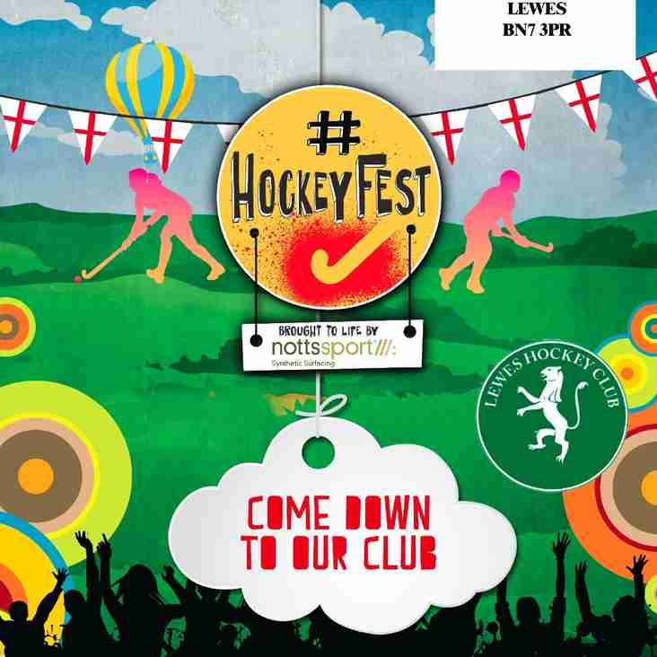 Hockey Fest - Saturday 29th August