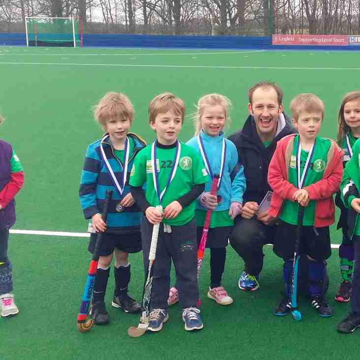 First ever Lewes U6 team win EG tournament