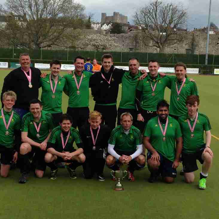 Lewes Men's 4s win cup final at County Finals