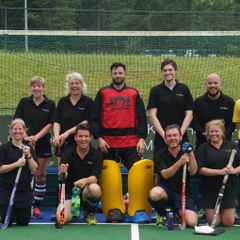 Lewes Back to Hockey team joint winners at E.G.