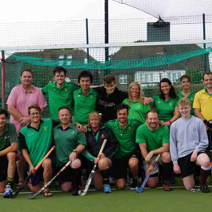 Lewes score 7 at Mixed tournament