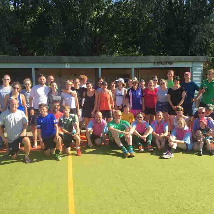 Charity tournament a resounding success