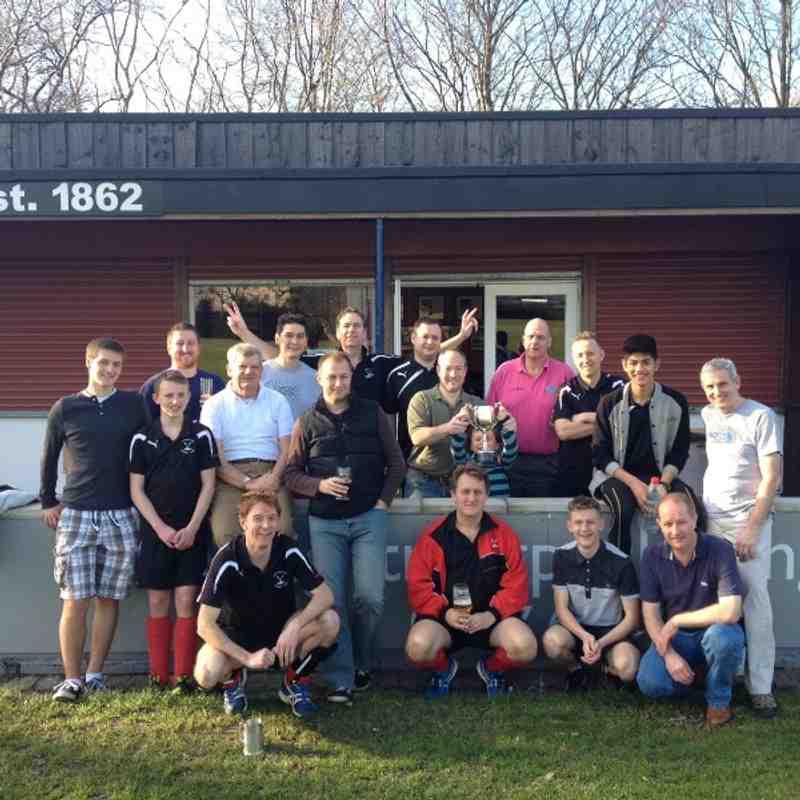Men's 3rd v Luton Vagrants (15th Mar 2014)