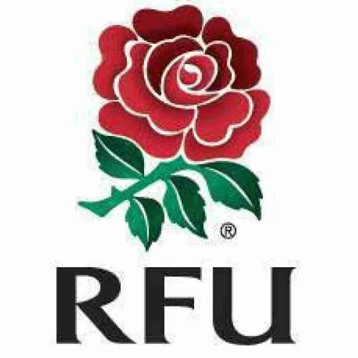 RFU Intermediate Cup 2nd Round Draw