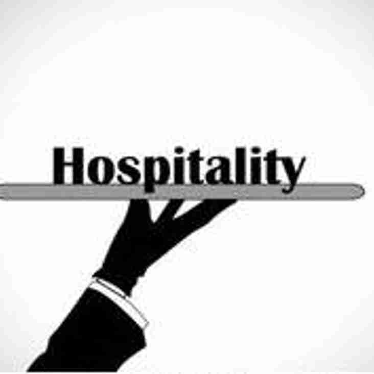 Hospitality Available
