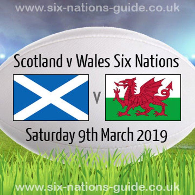 6 Nations Scotland V Wales
