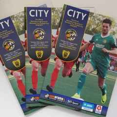 Gloucester City Programmes & Non League Magazine Available Online