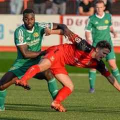 "Junior English anticipates a ""tough game"" VS Chorley - Saturday 3pm"