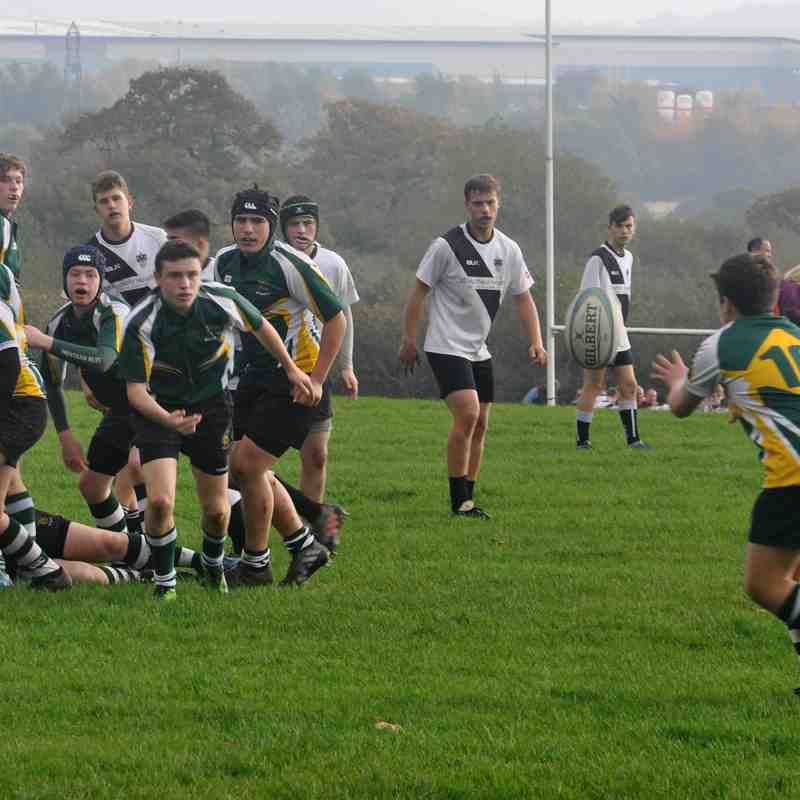 Trentham RUFC U16's vs Burton RFC u16's - 15th October 2017
