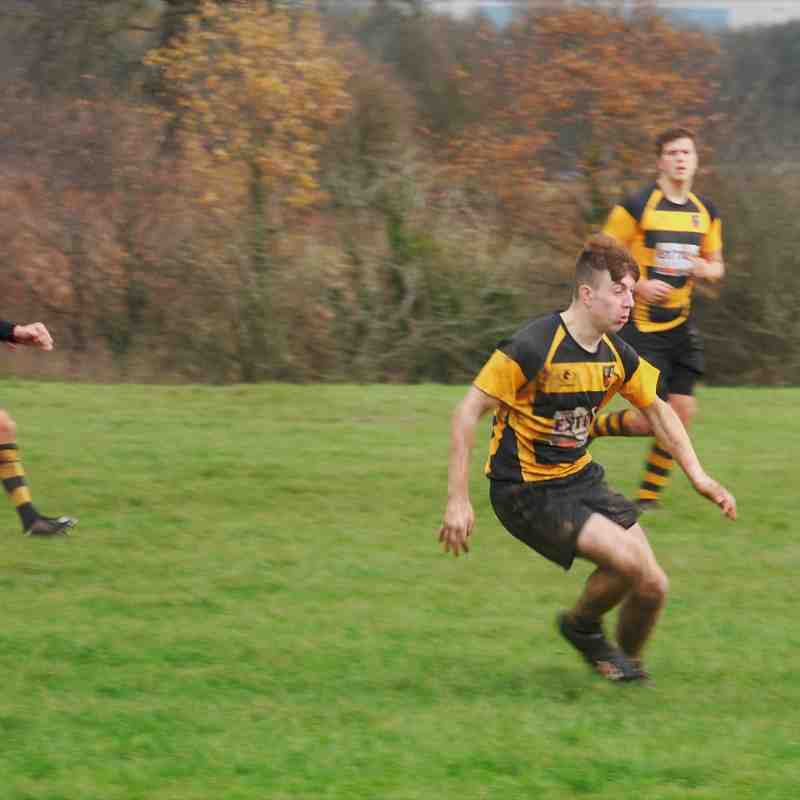 Trentham RUFC U16's vs Telford RFC U16's - 26th November 2017