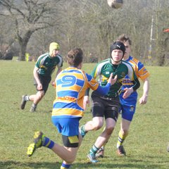 Trentham RUFC U16's vs Old Leamingtonians RFC U16 - 11th March 2018