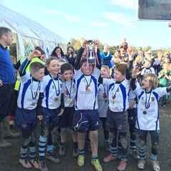 U9s Cheshire Cup winners 2nd year running!