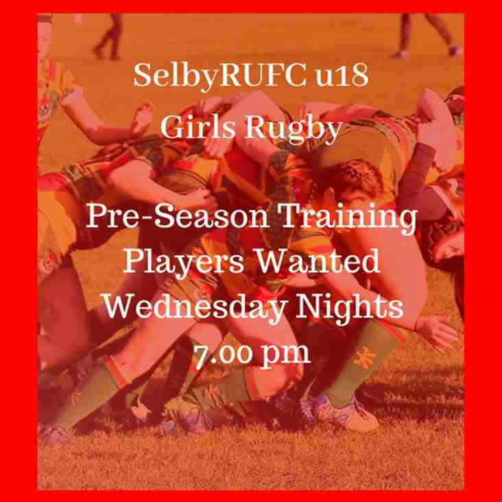 Selby RUFC Girls u18 Rugby