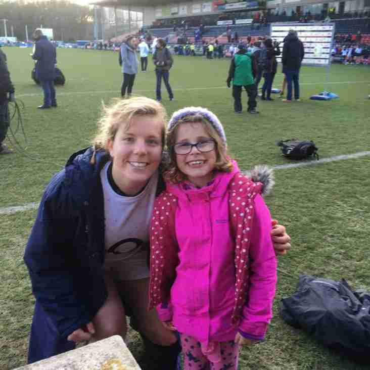 Selby u8 Player Inspired by England Ladies Win