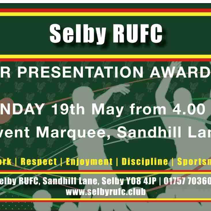 Junior Presentation Awards 2019