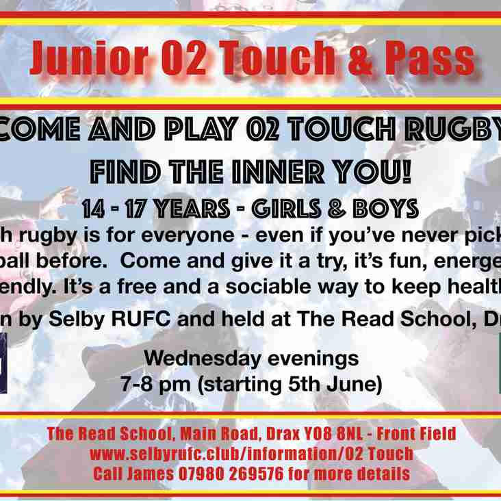 Junior 02 Touch & Pass