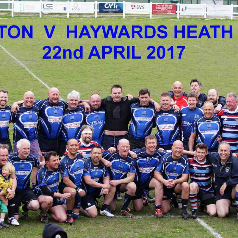 BRIGHTON V HAYWARDS HEATH VETS