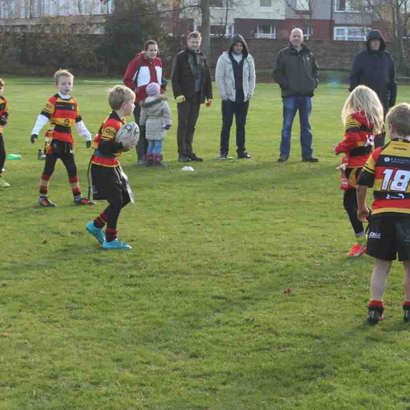 U8's vs Liverpool Collegiate 22/11/15