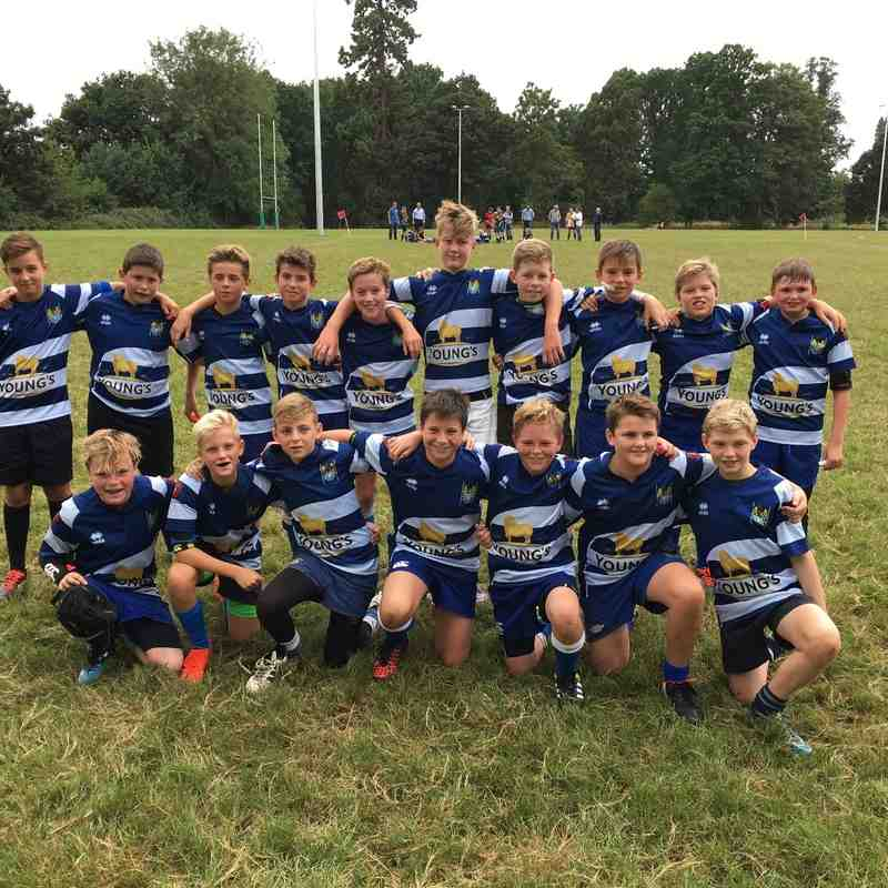 Guildford B Cup Game 18 Sep 2016