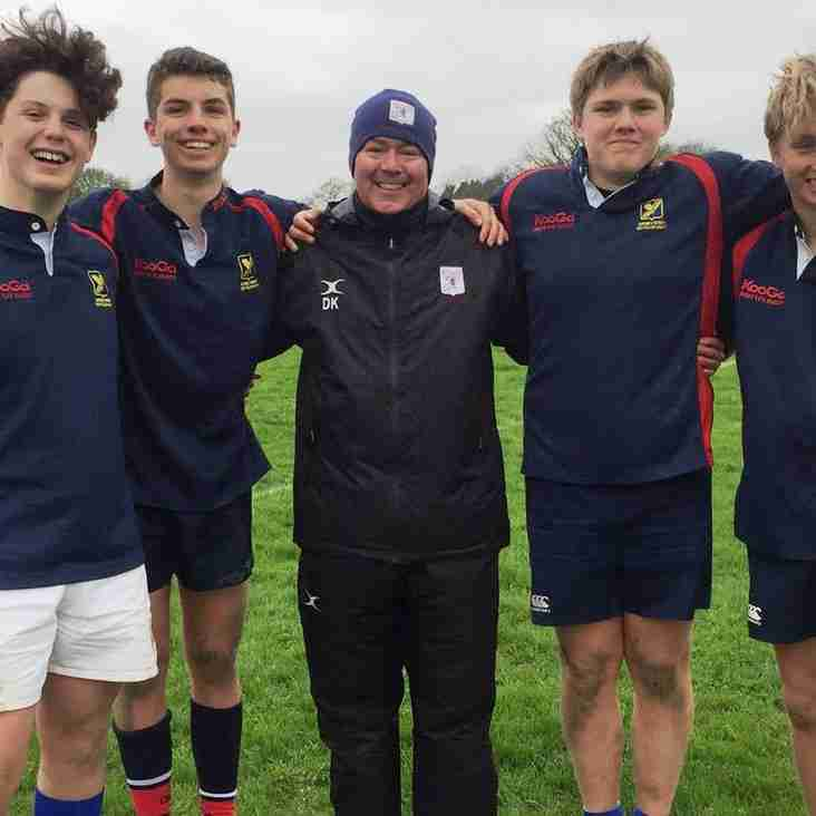 Haslemere U15s Represent Surrey Rugby in Thriller Match vs Sussex