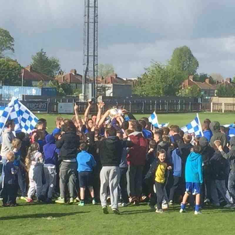 Wealdstone FC: Ryman Premier Division Winners 2014
