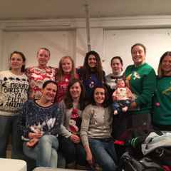 Happy Christmas and New Year from Harlequin Ladies