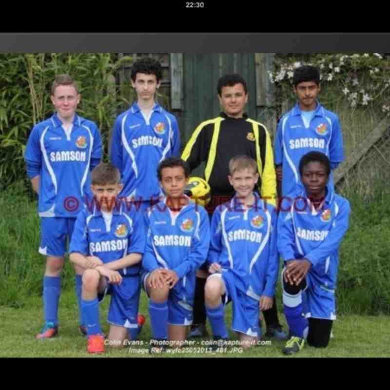 Wealdstone Tournament - Cup! 2013