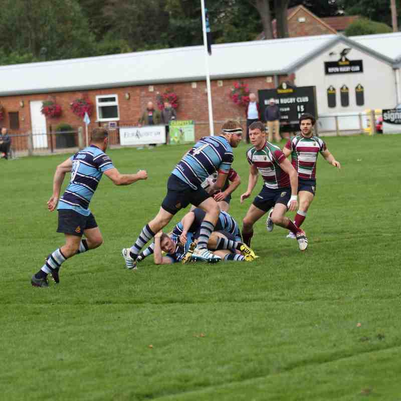 1st XV Photos vs Moortown, Saturday 26th September