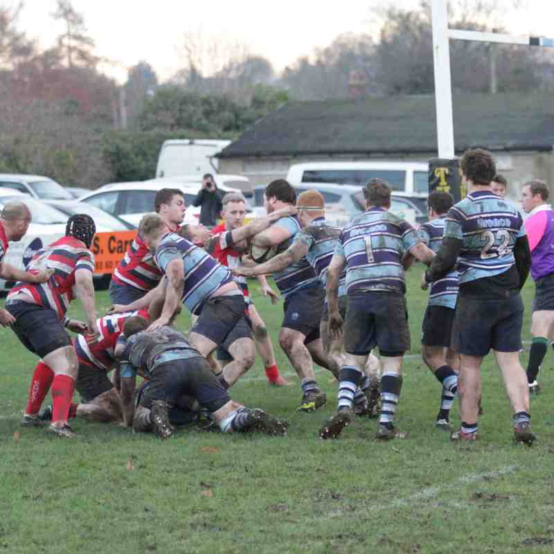 1st XV v 	Barnsley 26th Nov