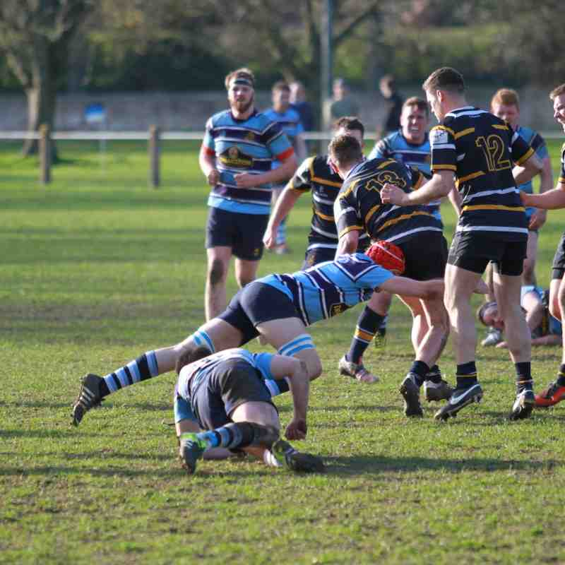 1st XV v Old Crossleyans 25th March