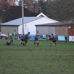 1st XV vs Old Crossleyans - Saturday  7th January