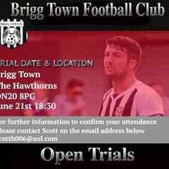 Brigg Town's Open Trial