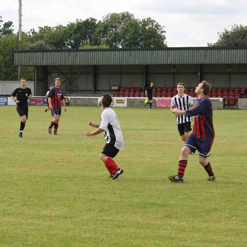 Brigg Town 1-1 Radcliffe Olympic (30/7/16)