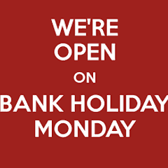 Club House Open on Bank Holiday Monday